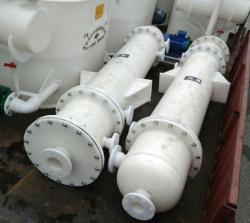 水喷射真空泵机组和石墨改性聚丙烯降膜吸收器